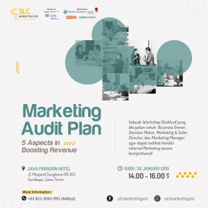 Marketing Audit Plan Surabaya Januari 2019