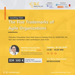 Coaching Clinic:  The Five Trademarks of Agile Organizations