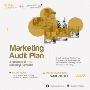 Marketing Audit Plan 5 Aspects in Boosting Revenue - November 2018