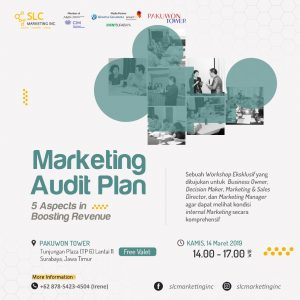 Marketing Audit Plan Surabaya Maret 2019