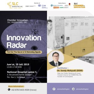 Chamber: Innovation Radar Find Out the Secret of 12 Marketing Signals